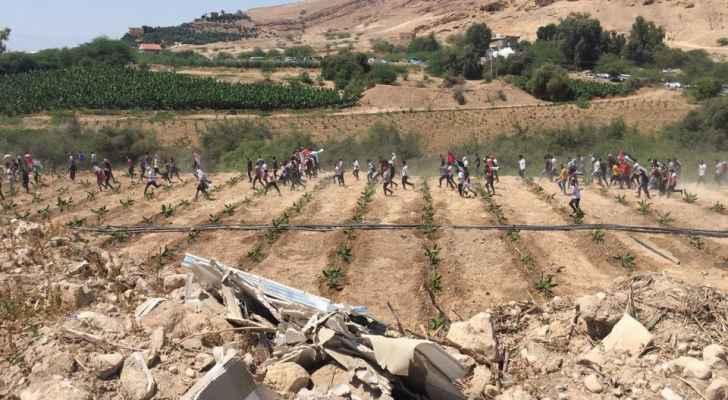 بيان أمني حول فعالية الشونة الجنوبية نصرة لفلسطين