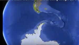 بالفيديو: وحش بحري يظهر على غوغل إيرث