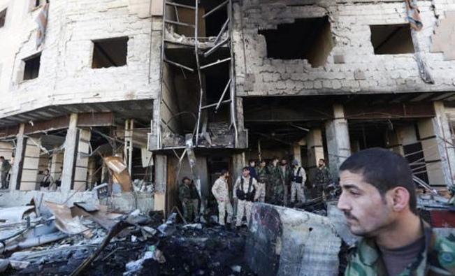 قتلى في انفجار في سوق خضار بوسط دمشق .. تفاصيل