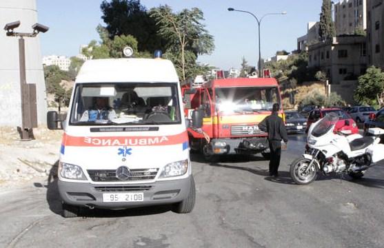 اربد: سائق مركبة يدهس طالبتين أمام مدرسة الرمثا الثانوية