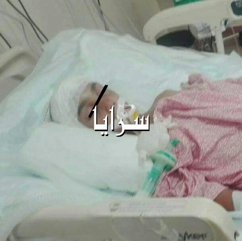 طفل مصاب ببكتيريا من نوع نادر  ..  يناشد اهل الخير في رمضان لمساعدته  ..  صور
