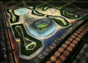 بالفيديو و الصور  ..  تصميمات هندسية خيالية لملاعب قطر استعداداً لكأس العالم (2022)