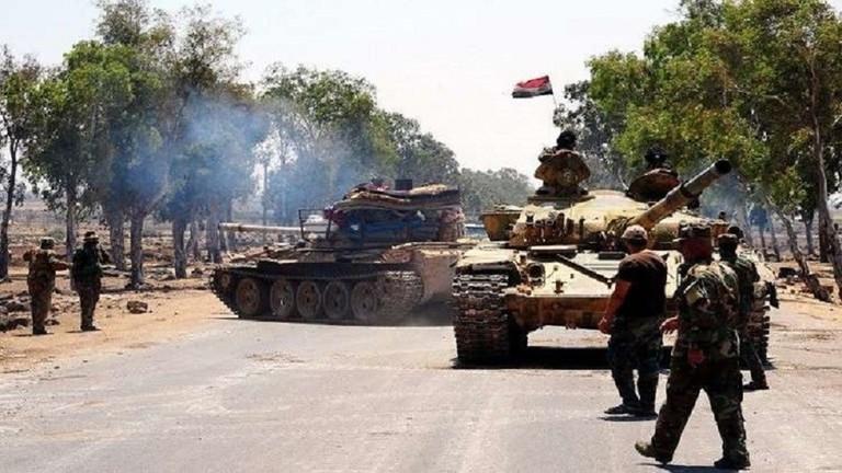 الجيش السوري يبسط سيطرته على بلدة جديدة في ريف حماة الشمالي