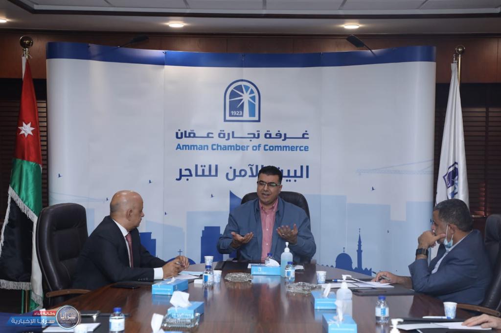 تجارة عمان تستضيف لقاء لوزير الزراعة و نقابة مصدري الخضار والفواكة