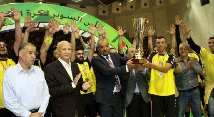 الحسين اربد يتوج بلقب كأس السوبر لكرة اليد