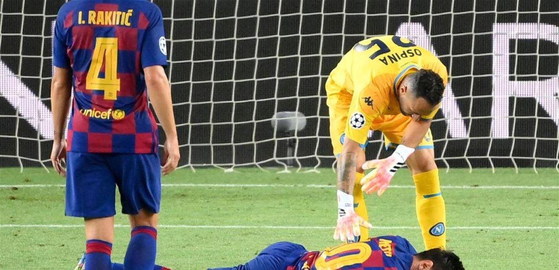 هكذا علّق برشلونة على إصابة ميسي