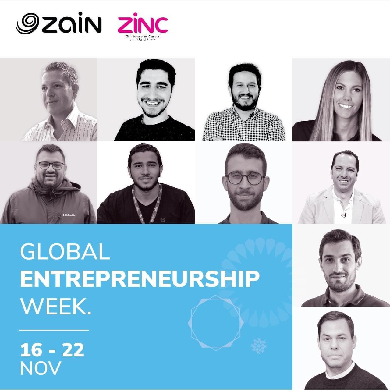 بمشاركة نُخبة من المدرّبين والمختصين في عدّة مجالات منصّة زين للإبداع تُطلق فعالياتها في الأسبوع العالمي لريادة الأعمال 2020