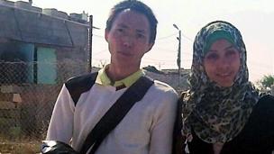 شاب صيني يتسلل عبر الأنفاق ليتزوج بفتاة من غزة