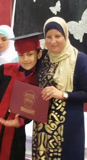 لف مبروك التخرج لـ حمزة وسيم العبادي