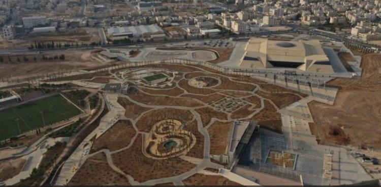 حدائق الملك عبداالله الثاني في المقابلين تستقبل الأردنيين الجمعة