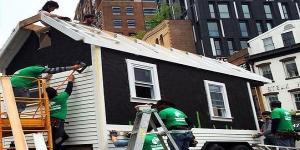شاهد بالصور.. منزل يُبنى في 72 ساعة