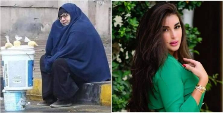 ياسمين صبري تتكفل 'سيدة المطر' ..  وتوجه رسالة