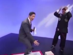 بالفيديو...  فضيحة على المباشر.. بطل 'كونغ فو' مزيف!