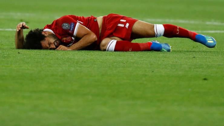 إصابة مقلقة لمحمد صلاح تزيد أوجاع ليفربول