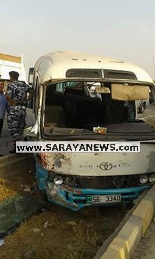 الكركية بعد حادث باص مؤته المؤلم...  الباصات تحولت لطائرات موت ومناشدات لضبط السرعة