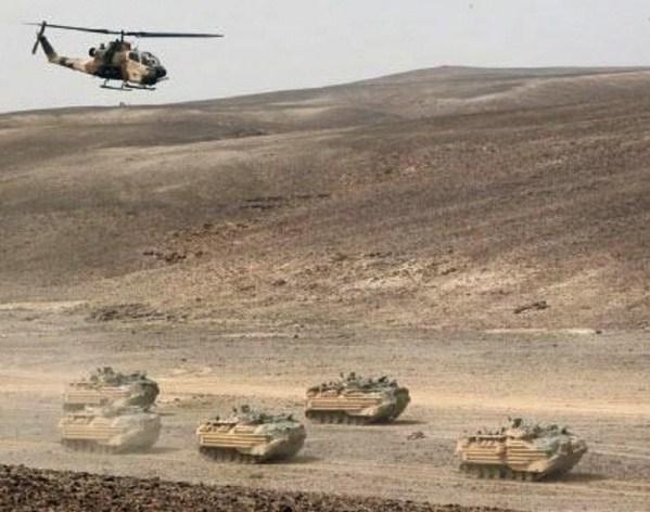 """الجيش الاردني و السوري وجهاً لوجه لأول مرة منذ سنوات على حدود السويداء  ..  تفاصيل جديدة عن """"جيش العشائر"""""""