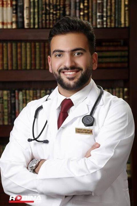 الدكتور نمير الهلسة مبارك التخرج