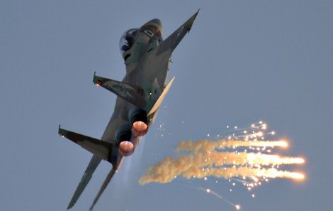 المضادات الارضية السورية تتصدى لهجوم جديد لطائرات اسرائيلية و تجبرها على التراجع
