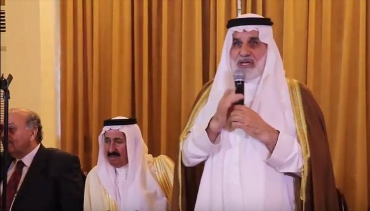 جاهة عشيرة السرحان والمجالي  ..  الكعيبر طلب والمجالي اعطى ..  فيديو