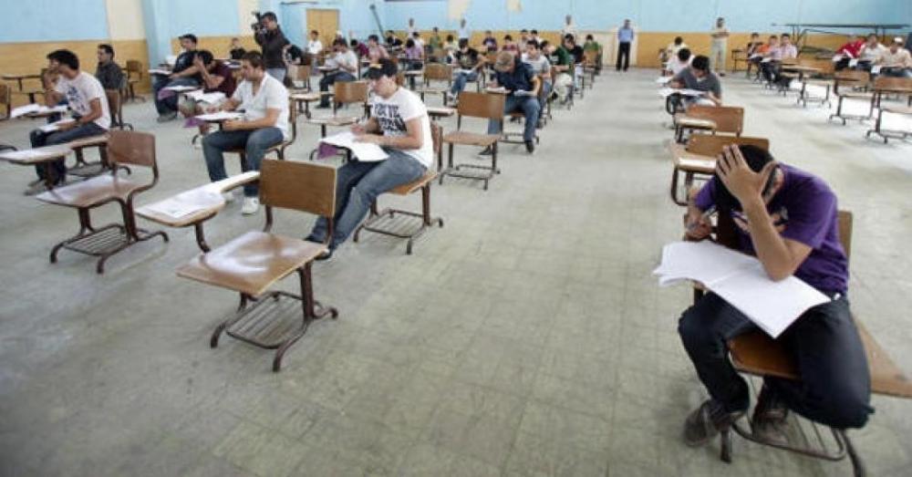 التربية: خطأ في تسلسل فقرات امتحان الرياضيات للأدبي في 2000 ورقة