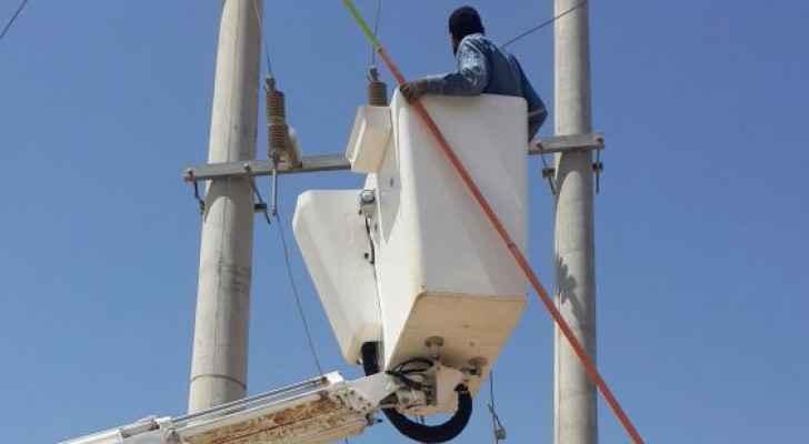 'الكهرباء' تستعين بالأمن لتحصيل ملايين الدنانير في الشونة الجنوبية