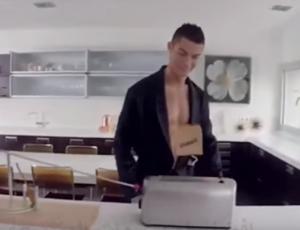بالفيديو .. شاهد كيف يتناول كريستيانو رونالدو افطاره
