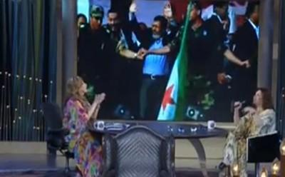 """فيديو ..  إلهام شاهين تهدى أغنية لـ""""مرسي"""" : """"اتفضل من غير مطرود وإياك تتجنن وتعود"""""""