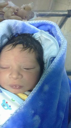 """مبارك المولود الجديد """"هشـام"""" احمد عنانزة"""