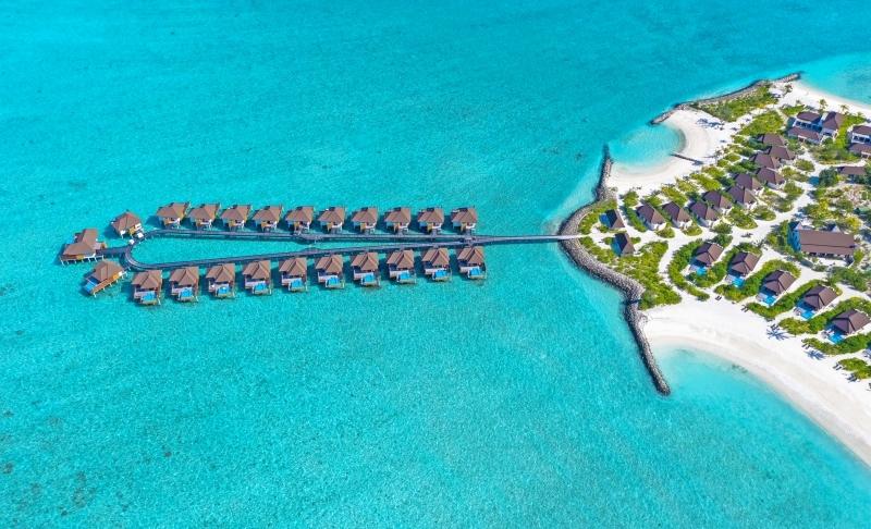 بالصور  ..  المالديف أرض الجمال