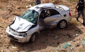 وفاة شخص وإصابة ثلاثة آخرين اثر حادث تدهور في محافظة اربد