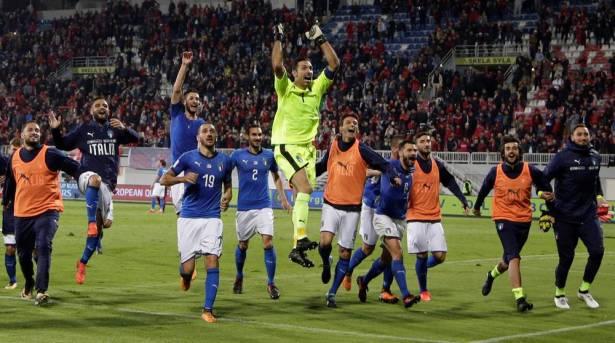 إيطاليا تنهي تصفيات المونديال بفوز صعب على ألبانيا