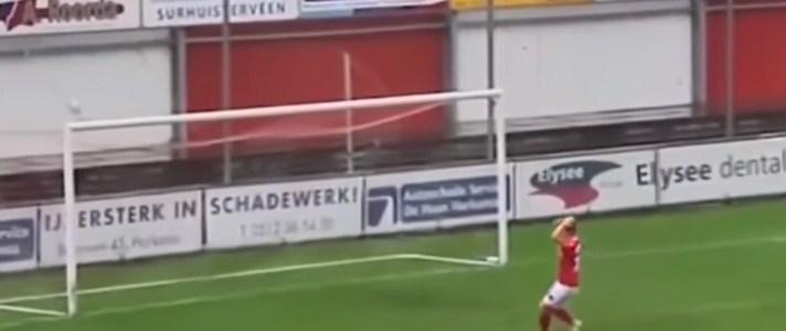 بالفيديو  ..  أفضل اللقطات المضحكة فى كرة القدم !!