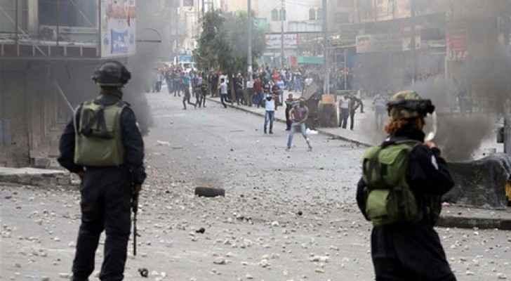 اصابات بمواجهات مع قوات الاحتلال بطولكرم