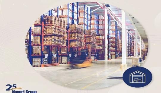 مجموعة الناعوري تبتكر حلول تخزين مثالية لبضائع الشركات