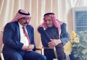 """الحجايا يزور القاضي العشائري """"السرحان"""" و شيخ النعيمات في المفرق """"النعيمي"""""""