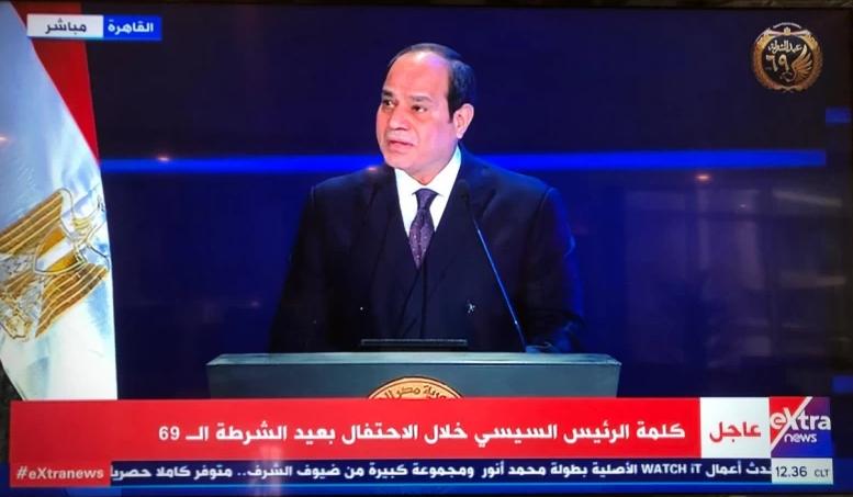 السيسي: مصر تخوض معركة البناء و تحتاج إلى سواعد شبابها و الإرهاب أصبح أداة صريحة لتنفيذ المخططات و المؤامرات