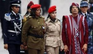 بعد صمت طويل...الحارسة الشخصية للقذافي تكشف سر تجنيده للنساء