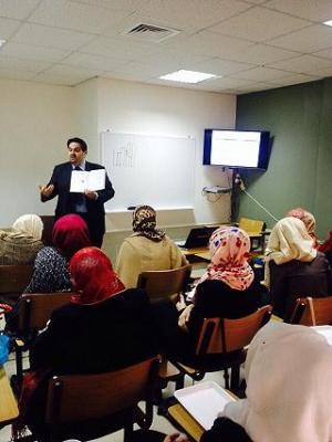 جامعة عمان الأهلية تستقبل وفداً من طلبة الجامعة الأردنية