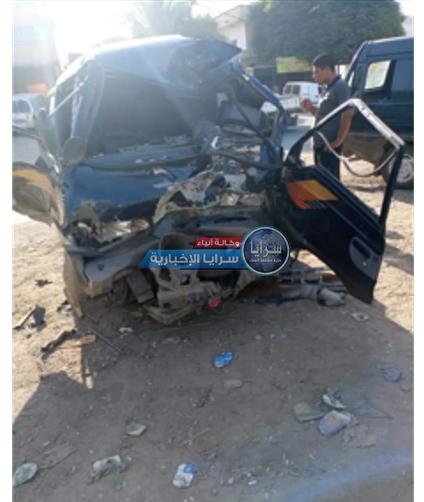 بالصور ..  الأغوار الشمالية : إصابة (7) طلاب في حادث تصادم باص كان يُقلهم