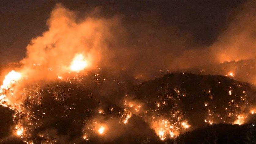الأردن يبدي استعداده للمساعدة في اخماد الحرائق بلبنان