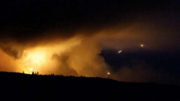 أوكرانيا  ..  44 انفجارا خلال ساعة في مستودعات أسلحة!