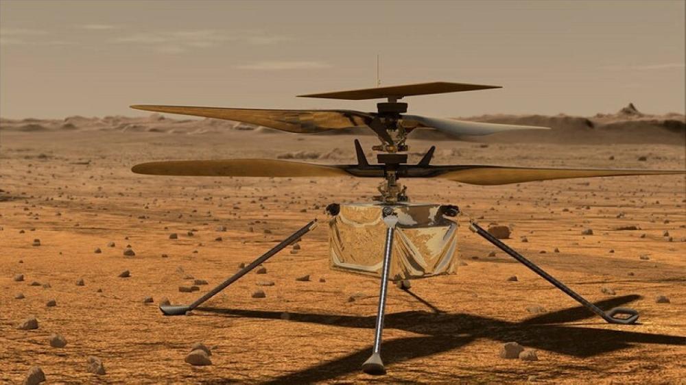 ناسا تكشف تفاصيل الرحلة السادسة لمروحية المريخ