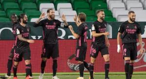 ريال ينجو من الخسارة امام بيتيس في الدوري الإسباني