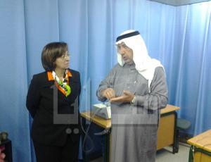 الوزيرة ابو حسان في زيارة استثائية لمعان