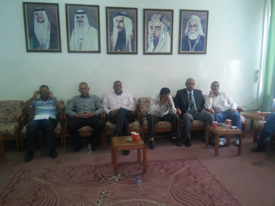 بالصور  مؤتمر صحفي لمعتقلي مؤته المفرج عنهم