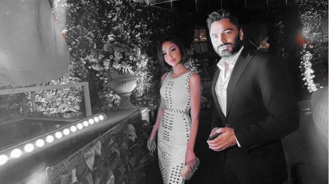 ما حقيقة زواج تامر حسني سراً بعد انفصاله عن بسمة بوسيل؟