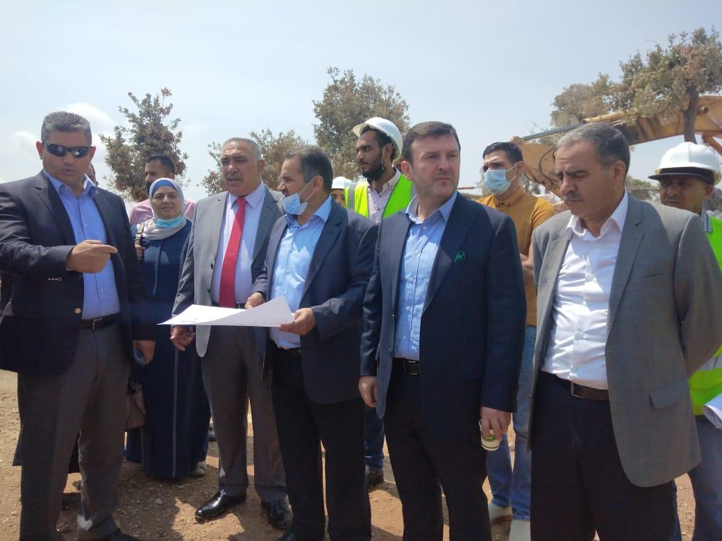 لجنة السياحة والآثار النيابية تزور محافظة عجلون