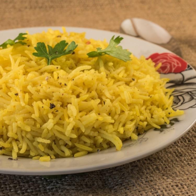 أفضل بهارات الأرز البسمتي الأصفر