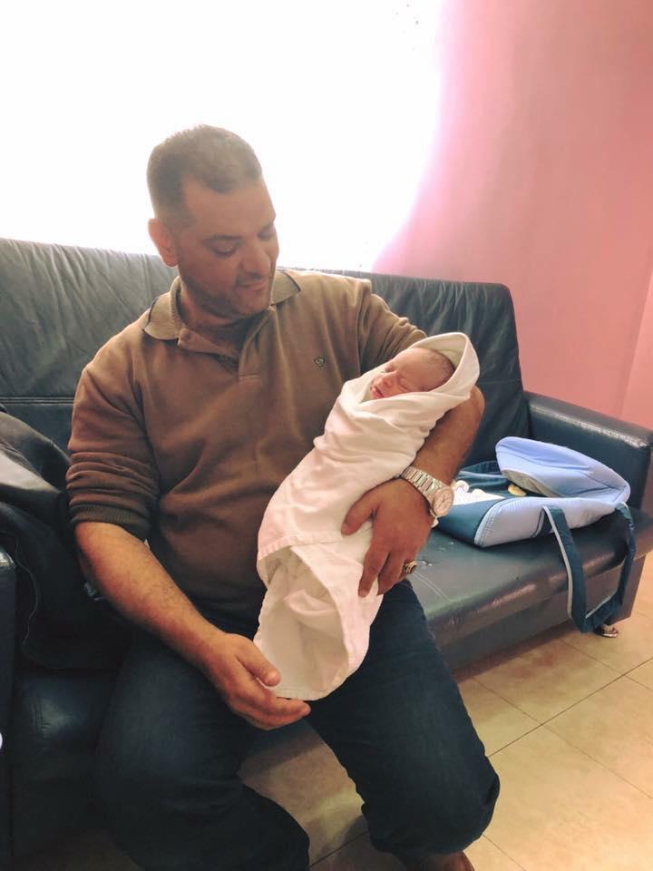 """مبارك المولود الجديد """"صخر نادر عبيدات"""""""