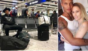 """بالصور.. هذا ما حدث للسجين الأكثر إثارة في العالم في مطار """"هيثرو"""""""